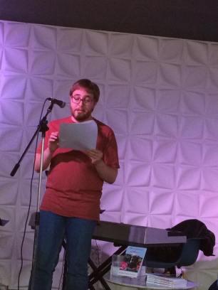 Literary fiction writer Randal Eldon Greene reading his stories.