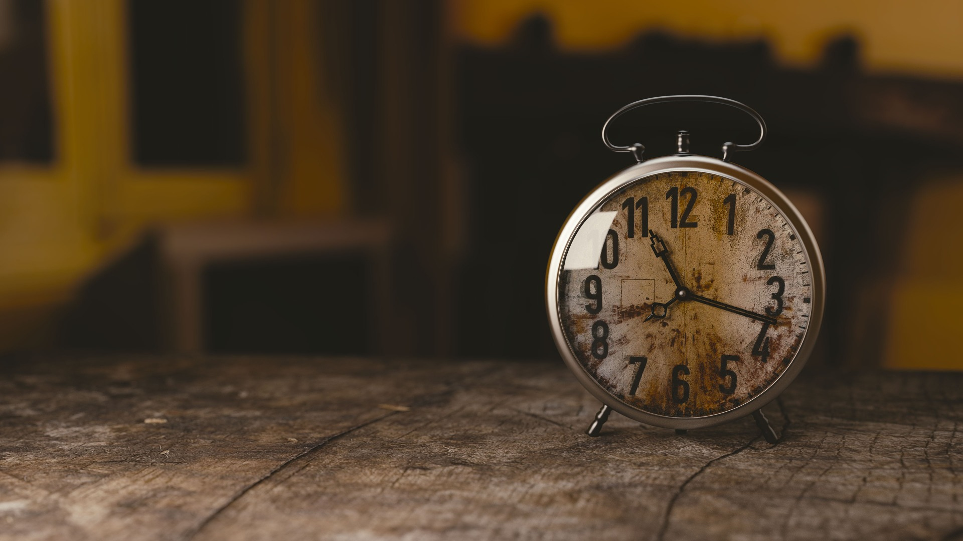 Tarnished Clock