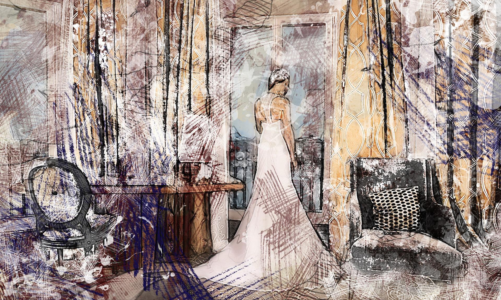 disillusioned bride