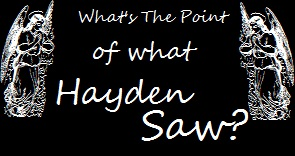 What's the Point of What Hayden Saw?
