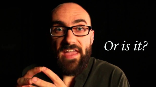 "Vsauce ""Or is it?"""